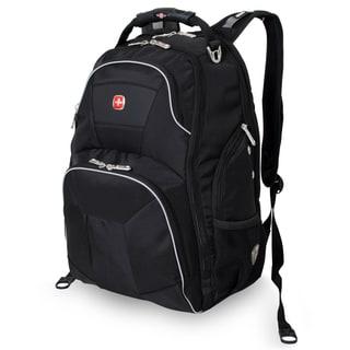 SwissGear ScanSmart Black 15-inch Laptop Backpack