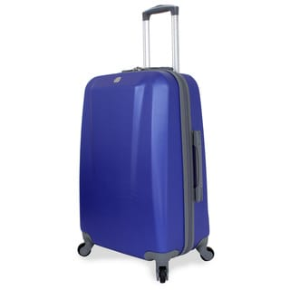 SwissGear Blue 24-inch Medium Hardside Spinner Upright Suitcase