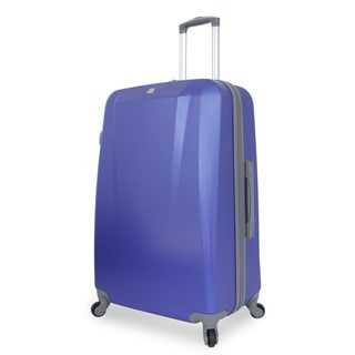 SwissGear Blue 28-inch Large Hardside Spinner Upright Suitcase