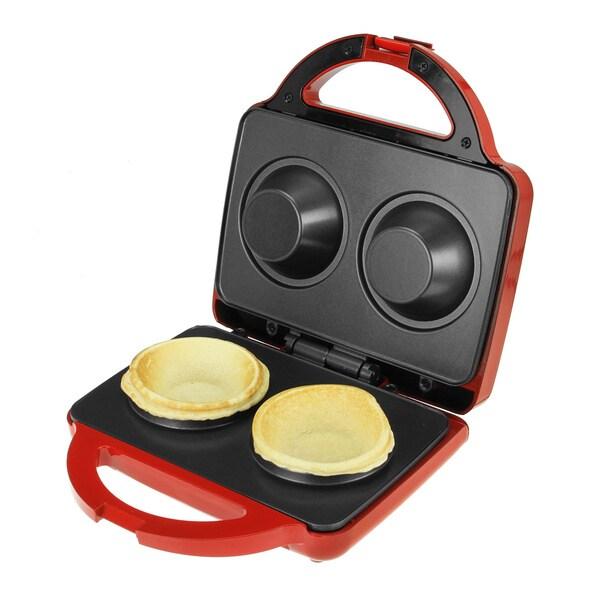 Kalorik Red Waffle Bowl Maker