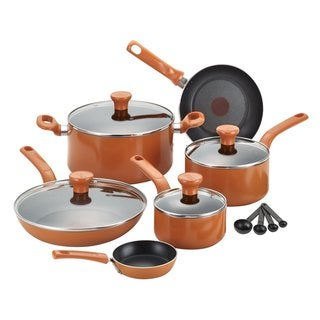 T-Fal Excite Nonstick Orange 14-piece Set