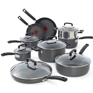 T-Fal Signature Hard Anodized Nonstick 15-Piece Set