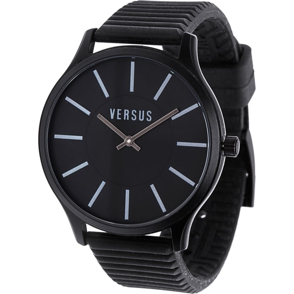 Versus by Versace 3C66100000 'Less' Black Dial Watch