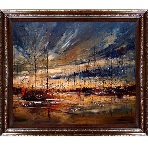 Justyna Kopania Harbour Framed Fine Art Print