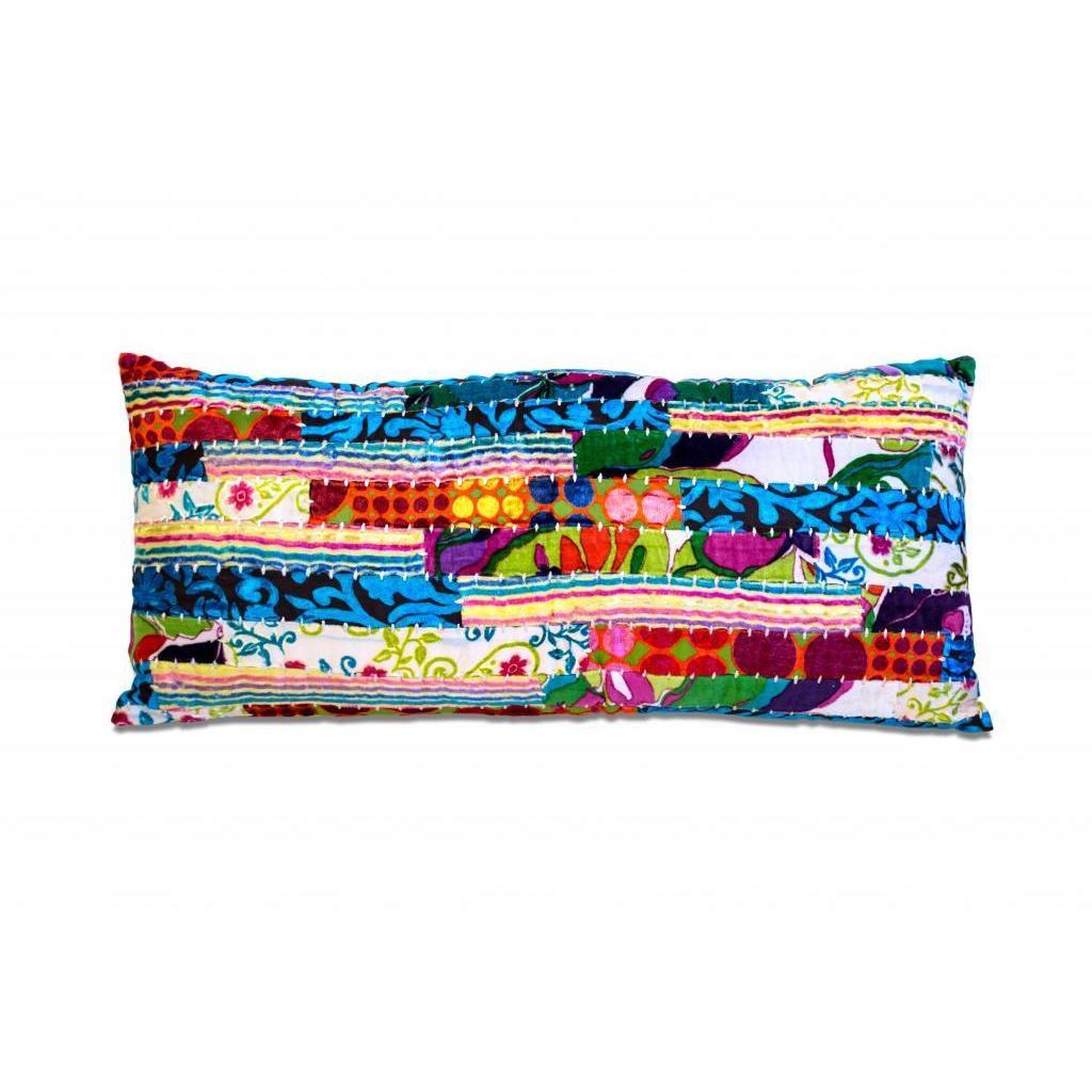Overstock.com Bright Rectangle Throw Pillow