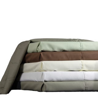 Brielle 600 Thread Count Cotton Blend Rich Sateen Sheet Set or Pillowcase Seperates