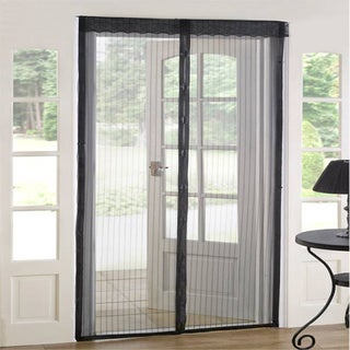 As Seen On TV Deluxe Set Magnetic Mesh Screen Door
