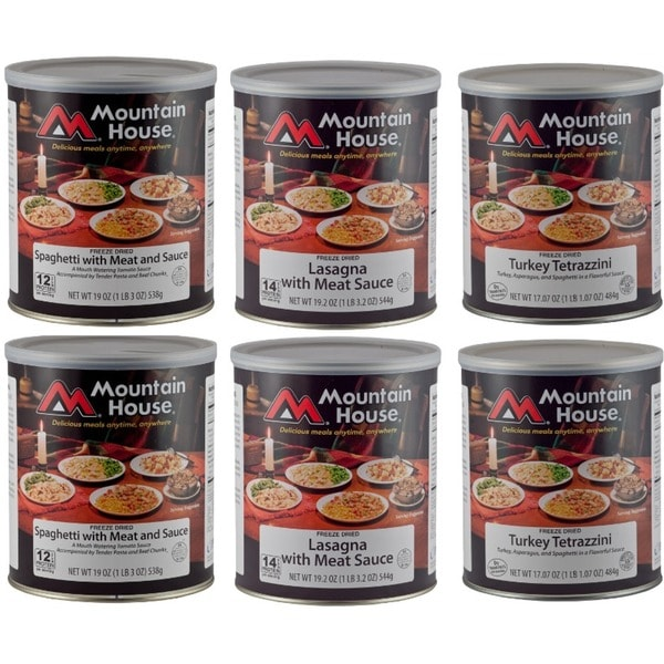 Mountain House Freeze-dried Italian Favorites