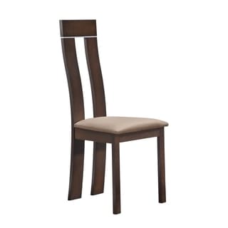Dining Chair Dark Walnut (Set of 2)