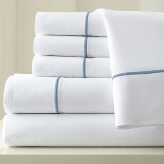 1000 Thread Count Cotton Blend Sheet Set With Single Marrow Hem 6-piece
