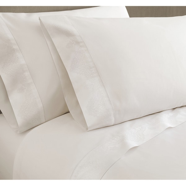 Jacquard Cuff Luxury Sheet Set