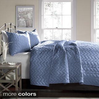 Lush Decor Avani Woven 3-piece Quilt Set