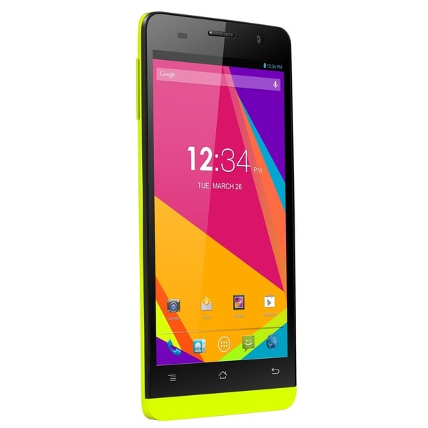 BLU Studio 5.0 S II Lime Green Unlocked GSM Quad-Core Android Phone