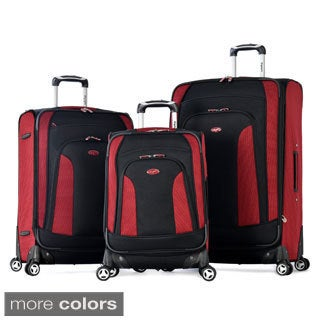 Olympia 'Rochester' 3-piece Expandable Spinner Luggage Set