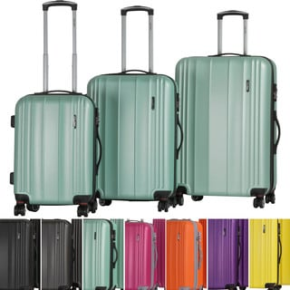 CalPak Hanford Expandable 3-piece Hardside Spinner Luggage Set