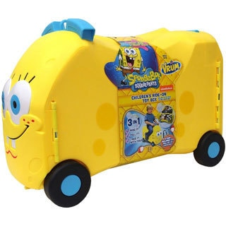VRUM Nickelodeon SpongeBob Kids Ride Along Suitcase