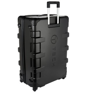 T-Tech by TUMI Cargo Black 32-inch Large Hardside Spinner Upright Suitcase