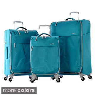 Olympia 'Swift' 3-Piece Expandable Spinner Lightweight Luggage Set