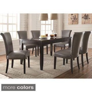 Gun Metal 7-piece Dining Set