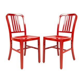 Somette Alton Red Dining Chair (Set of 2)
