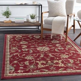 Lanier Traditional Floral Area Rug