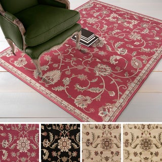 Meticulously Woven Lanier Floral Polypropylene Area Rug (10' x 13')
