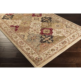 Meticulously Woven Telfair Traditional Polypropylene Area Rug (6'6 x 9'8)