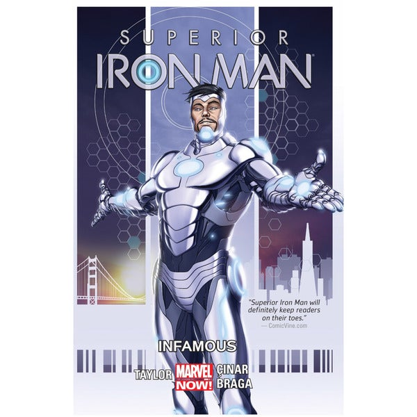 Superior Iron Man 1: Infamous (Hardcover) 13888299