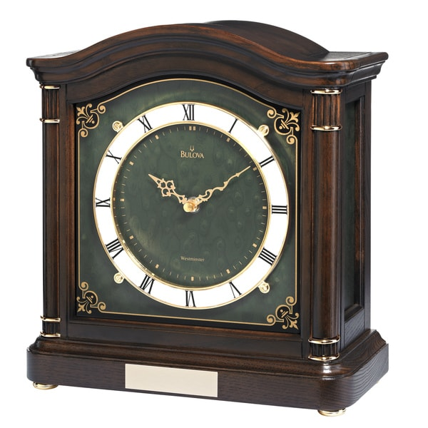 Bulova Wiltshire Chiming Mantel Clock