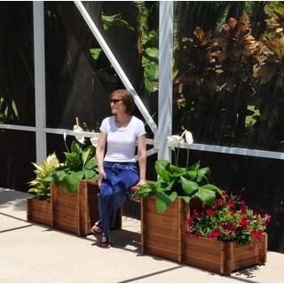 TherMod Fiona 2B Planter Bench