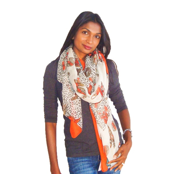 Perfumes and Potions Vanity Design Fashion Scarf