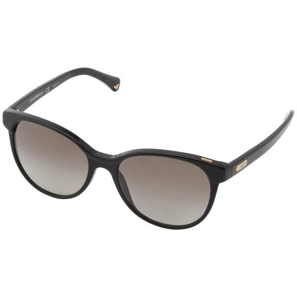 Emporio Armani Women's EA4016 Round Gradient Sunglasses