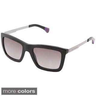 Emporio Armani Women's EA4017 Metal Square Sunglasses