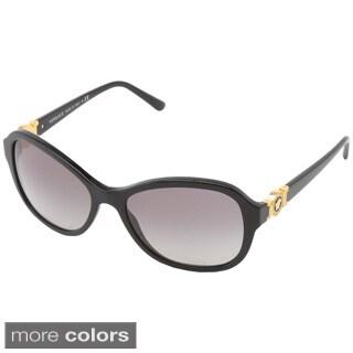 Versace Women's VE4262 Oval Gradient Sunglasses