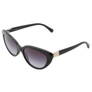 Dolce & Gabbana Women's DG4194 Black Cat-eye Sunglasses