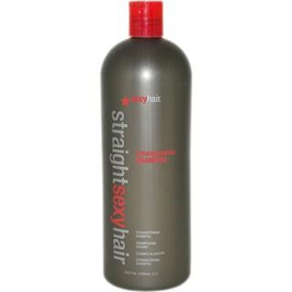 Sexy Hair Straight Sexy Hair Straightening 33.8-ounce Shampoo