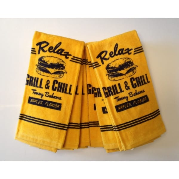 Tommy Bahama Grill & Chill Kitchen Towels (Set of 6)