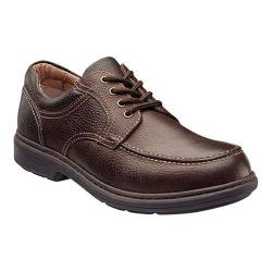 Men's Nunn Bush Wayne Moc-Toe Oxford Brown Leather