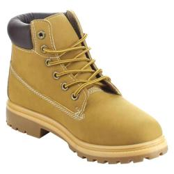 Women's Beston Norman-01 Ankle Boot Wheat Faux Leather