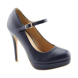Women's L & C Tamika-33 Pump Navy
