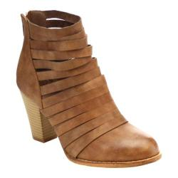 Women's L & C Urban-04 Bootie Brown