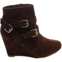 Women's Westbuitti Jala-1 Ankle Bootie Brown