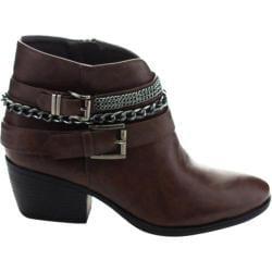 Women's Westbuitti Taylor-2 Ankle Bootie Brown