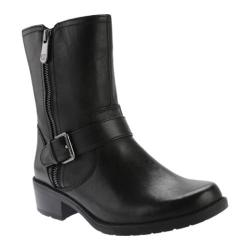 Anne Klein Women's Lino Boot Black Multi Leather
