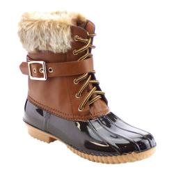 Women's Beston Duck-01 Boot Brown
