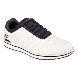 Men's Skechers GO GOLF Elite Lace Up White/Navy