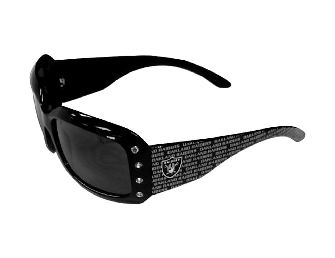 Oakland Raiders NFL Women's Designer Bling Sunglasses
