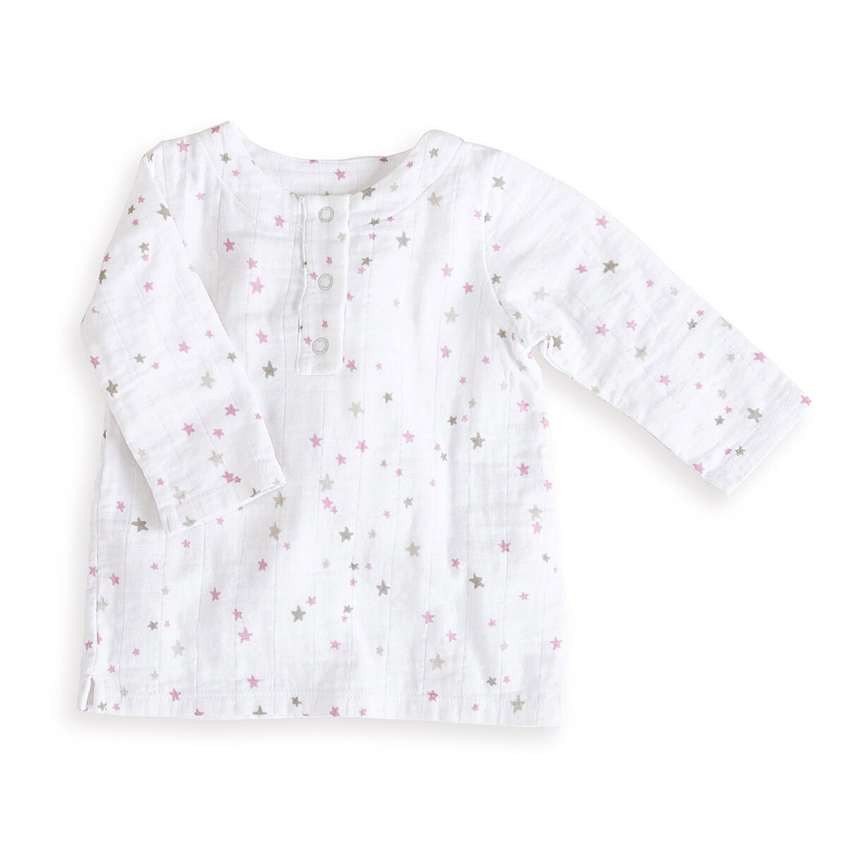 aden + anais Girls 6-9 Months Lovely Starburst Muslin Tunic Top