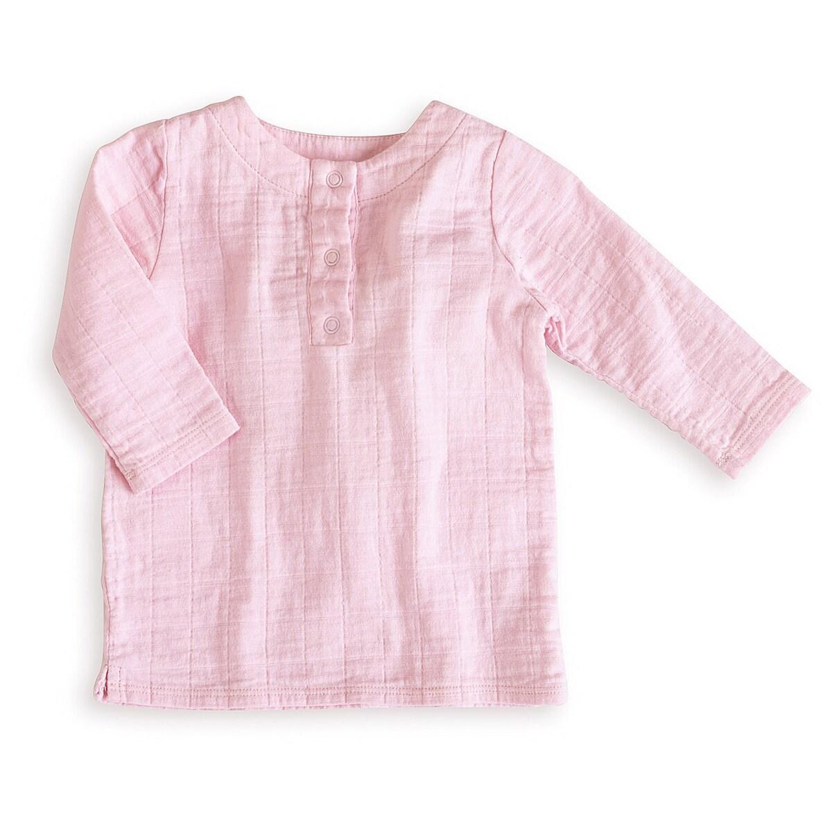 aden + anais Girls 0-3 Months Lovely Pink Muslin Tunic Top