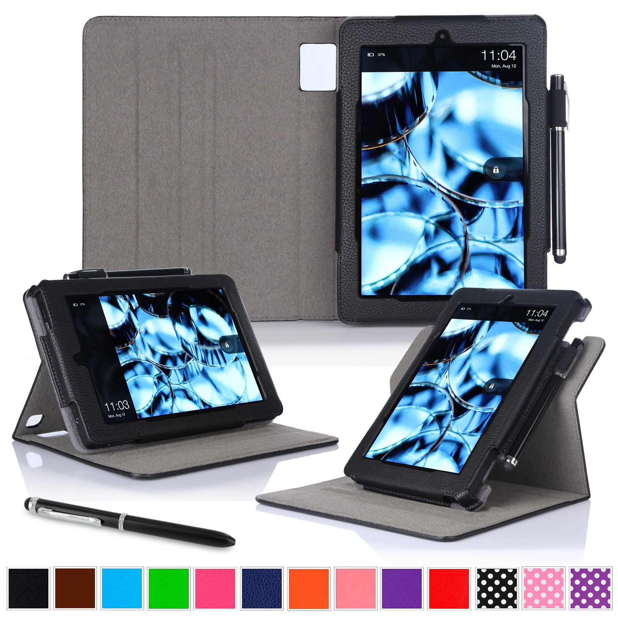 roocase Dual View Case for Amazon Kindle Fire HD 8 (2015)